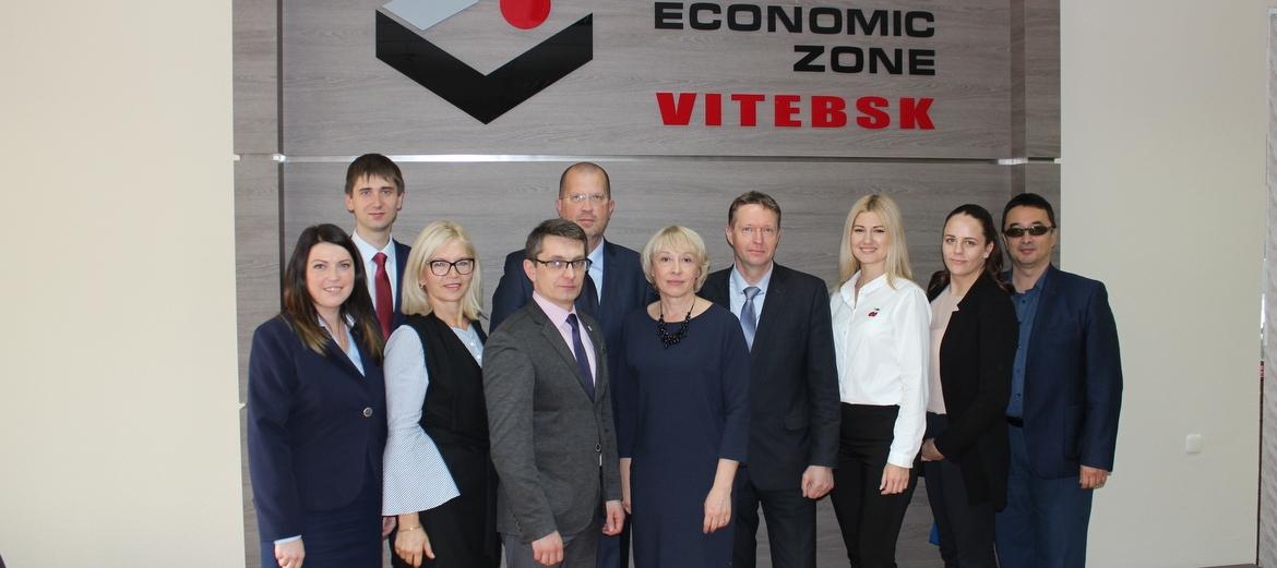 "Rēzekne SEZ continues cooperation with Free Economic Zone ""Vitebsk"""