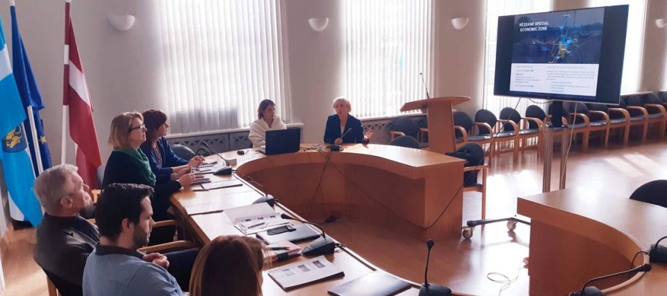 The third project steering group meeting took place in Rēzekne