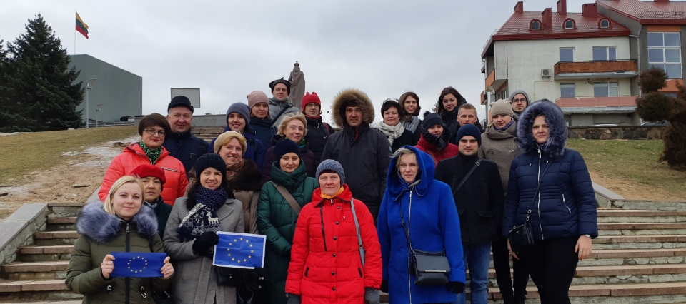 Territorial planners visit degraded areas in Lithuania as a part of a study visit